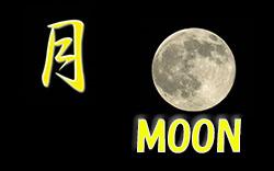 月のアップ
